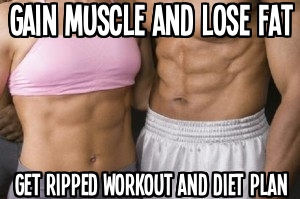 get ripped workout and  diet plan
