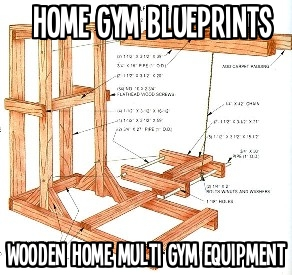 build your own home gym equipment